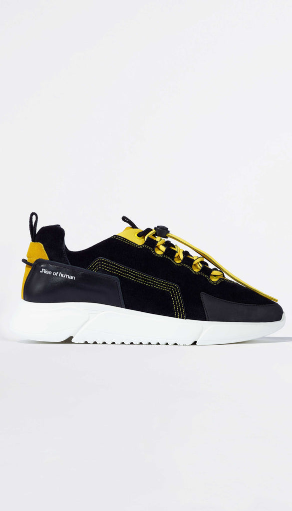 TREK RUNNER    black / yellow