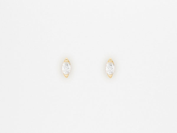 Navette Diamond Earrings Sarah Appleton Fine Jewelry