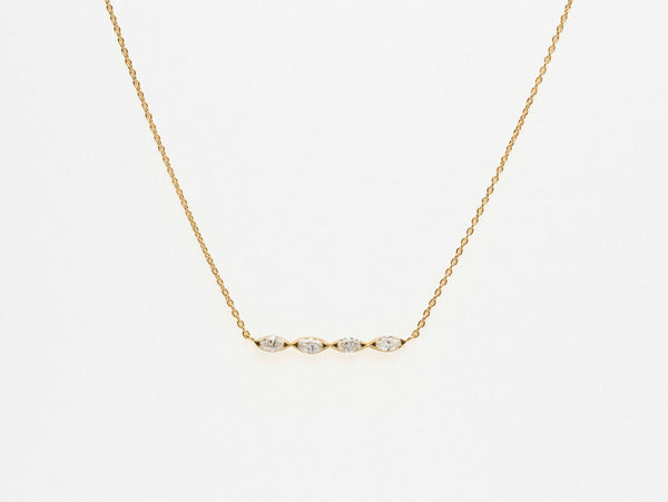 Sarah Appleton Navette Necklace