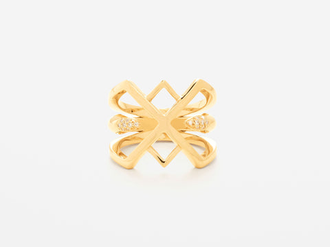 Sarah Appleton Diamond Claw Ring