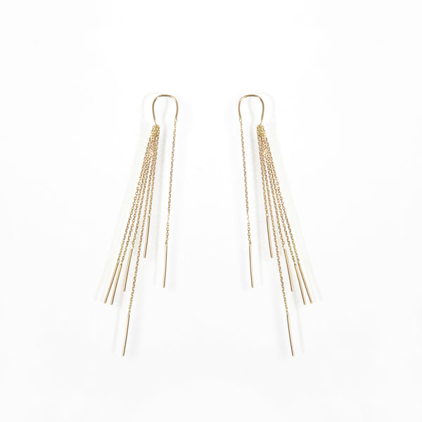 Sarah Appleton Multichain Earrings