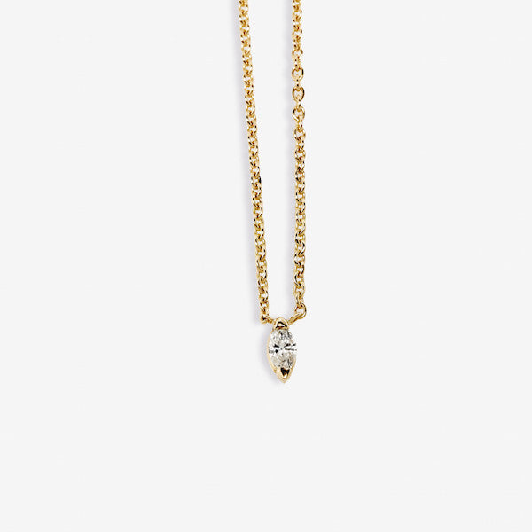 Sarah Appleton Infinite Navette Necklace