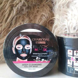 Charcoal black mask Charcoal white 300 ml