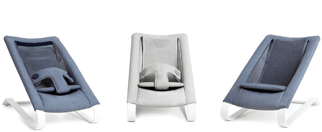 Bombol Bamboo 3Dknit Baby Bouncer 3 configurations