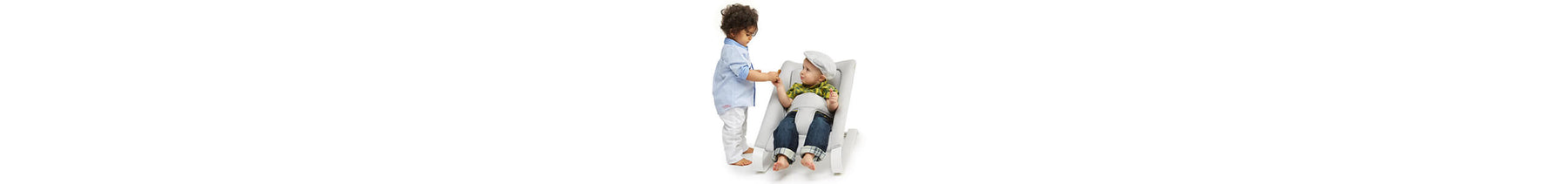 Baby Bouncer chair Bombol® Two baby playing