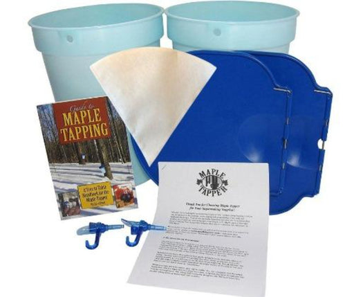 Maple Syrup Making Kit | Buckets & Spiles | Professional Tapping Guidebook