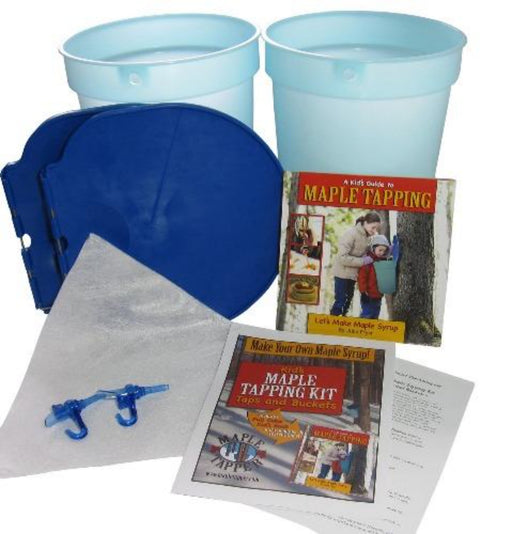 Kid's Maple Tree Tapping Kit - Taps and Buckets