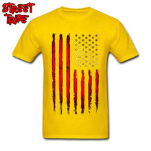 Load image into Gallery viewer, USA Flag T-shirt