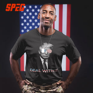 Trump - DEAL WITH IT Shirt