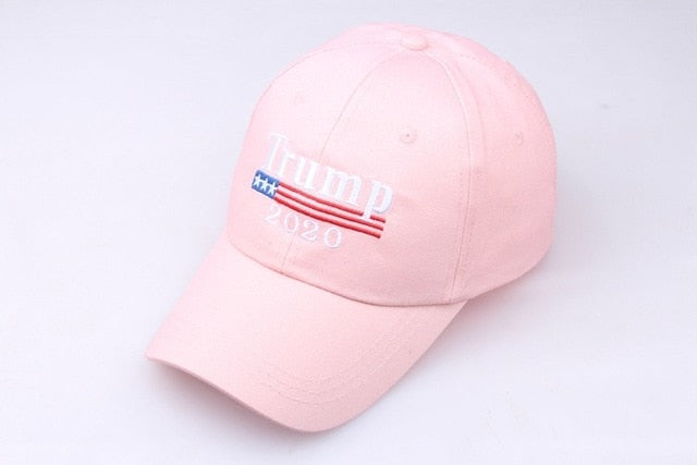DISCOUNT Trump 2020 Hat - Red and Pink