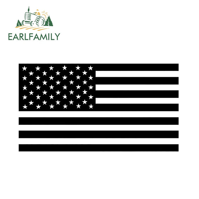 American Flag Decal Vinyl Sticker