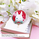 The Royal Rabbit Pin