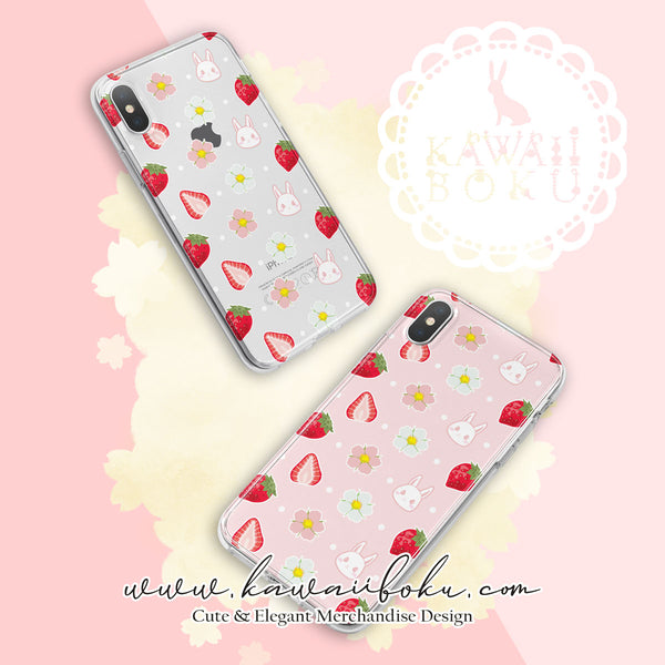 Strawberry Romance Phone Case