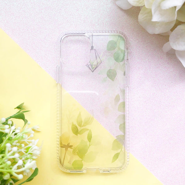 Green Floral Phone Case - Limited