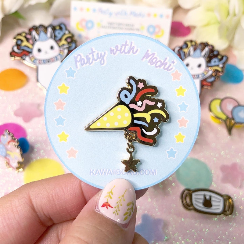 Party Popper Pin(s)