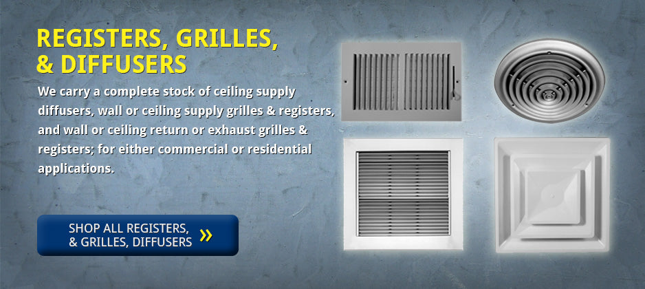 Engineeringair 183 Air Registers Grilles Diffusers Ductwork