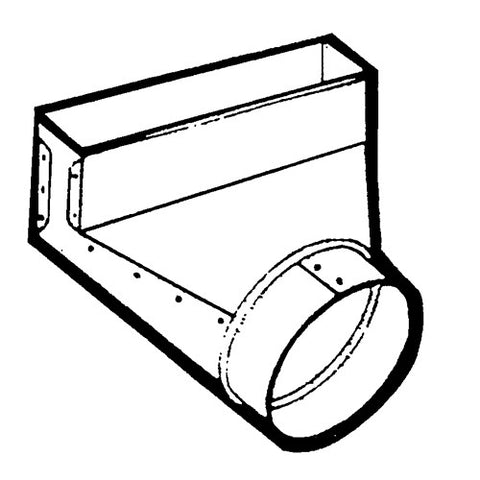 engineeringair snap lock duct fittings Air Conditioning Duct Layout z m sheet metal elbow boot 90 degree