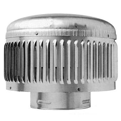 "Metal-Fab - Type B Gas Vent Round Roof Vent Cap-HP 3"" Dia. to 6"" Dia."