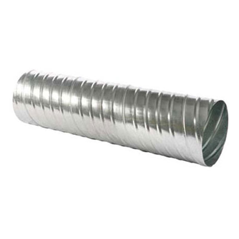 Picture of Linx (Formerly Lindab USA) Safe #SR Galvanized Spiral Round Duct