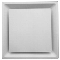 METALAIRE - 5750-6 Square Panel Face T-Bar Lay-In Square Diffuser Round Neck