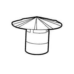 Z&M Sheet Metal - Round Chimney Cap