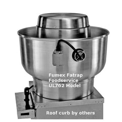 PennBarry - Fumex Fatrap UL762 Upblast Belt Drive Centrifugal Roof Exhaust Fans