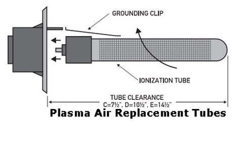 Picture of Plasma Air International Model C Ionization Tube