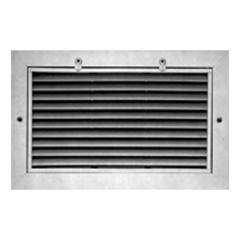 Picture of METALAIRE - RHF-1 Return/Exhaust Surface Mtd. Filter Grilles w/Fixed 45 Degree Deflection Blades