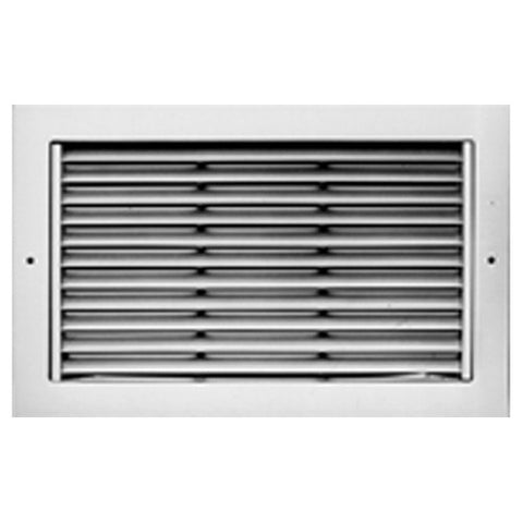 Picture of METALAIRE - RH Return/Exhaust Grilles Surface Mounted w/Fixed Horizontal 45 Degree Deflection Blades