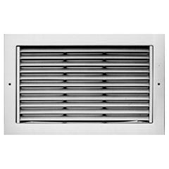 METALAIRE - RH Return/Exhaust Grilles Surface Mounted w/Fixed Horizontal 45 Degree Deflection Blades