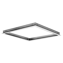 METALAIRE - TBPF T-Bar Plaster Frames for Plenum Slot Diffusers