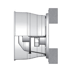 PennBarry - Fumex Direct Drive Centrifugal Wall Exhaust Fans
