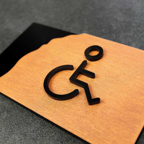 Restroom Wheelchairs Sign Bathroom Signs Walhunt Bsign Bathroom Signs Bsign