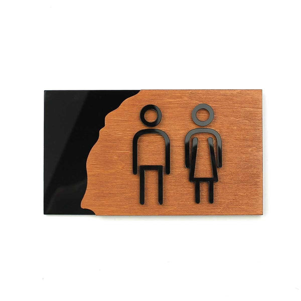 Wood Signs for Bathroom