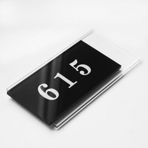 Acrylic Door Numbers