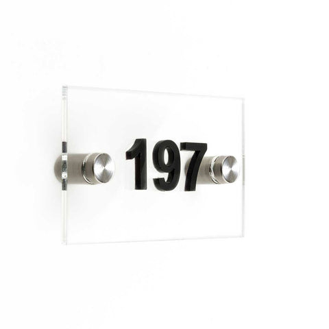 Hotel Acrylic Door Numbers