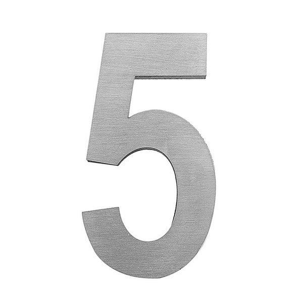 "Office Door Numbers ""3"" example front side"