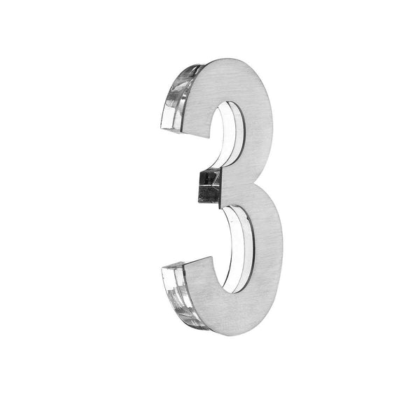 Office Door Numbers (price for one symbol) Door Numbers clear acrylic glass Bsign