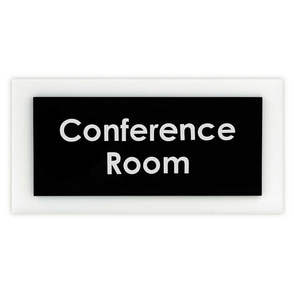 "Acrylic Room Signs ""conference room"""
