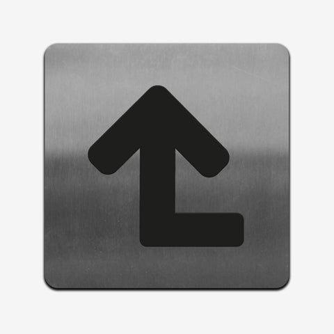 Stainless Steel Indicator Sign for Office