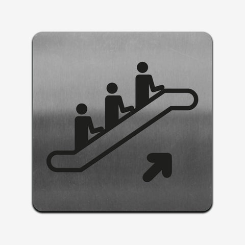 Elevator - Stainless Steel Sign