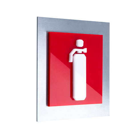Extinguisher Steel Safety Signage