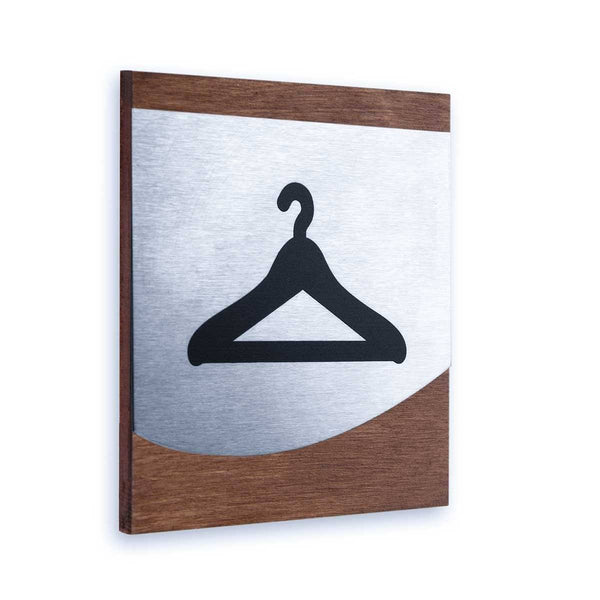 Dressing Room Steel Signs Information signs Indian Rosewood Bsign