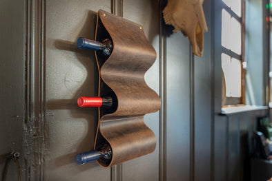 No. 121 - Wall-Mounted Wine Racks