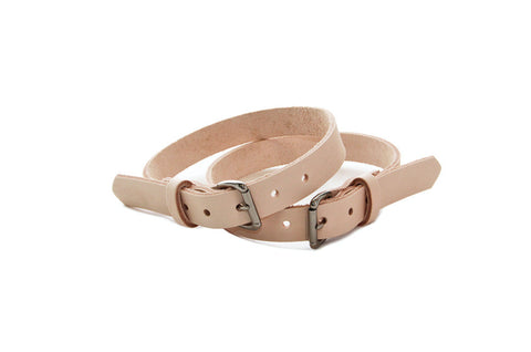 No. 4316 Tie Down Straps in Natural Tan