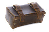 No. 215 - Small Travel Case in Crazy Horse Brown