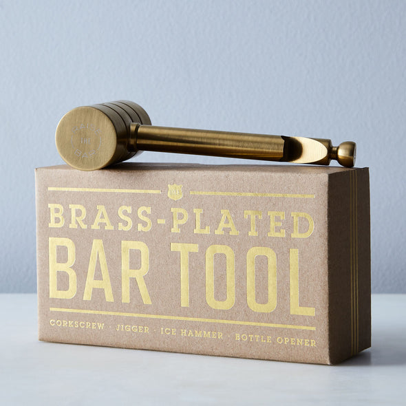 4 in 1 Bar Tool - BRASS