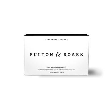 Aftershave Cloths by Fulton & Roark