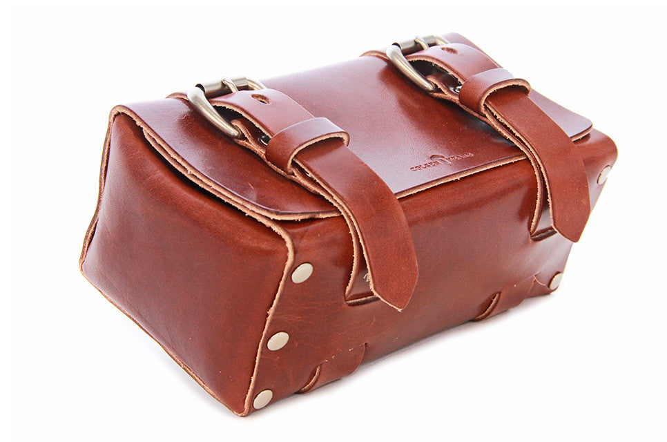 No. 215 - Small Travel Case in Havana Brown