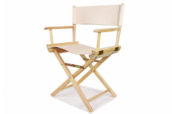 No. 1019 - Two Director Chairs in Natural Tan